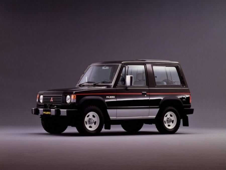 Mitsubishi Pajero Metal Top внедорожник 3-дв., 1982–1991, 1 поколение - отзывы, фото и характеристики на Car.ru