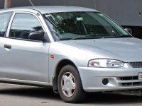 Mitsubishi Mirage, 5 поколение, Хетчбэк, 1995–2002