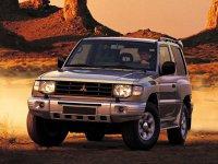 Mitsubishi Montero, 2 поколение [рестайлинг], Внедорожник 3-дв., 1997–1999