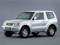 Mitsubishi Montero, 3 поколение, Внедорожник 3-дв., 1999–2003