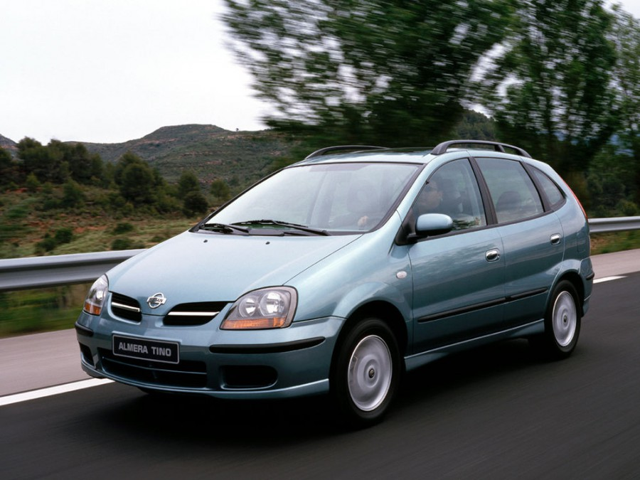 Nissan Almera Tino минивэн, 2000–2006, V10 - отзывы, фото и характеристики на Car.ru