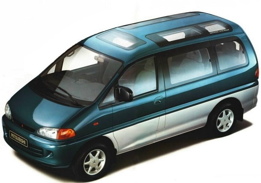 Mitsubishi Space Gear минивэн, 1994–1997, 1 поколение - отзывы, фото и характеристики на Car.ru