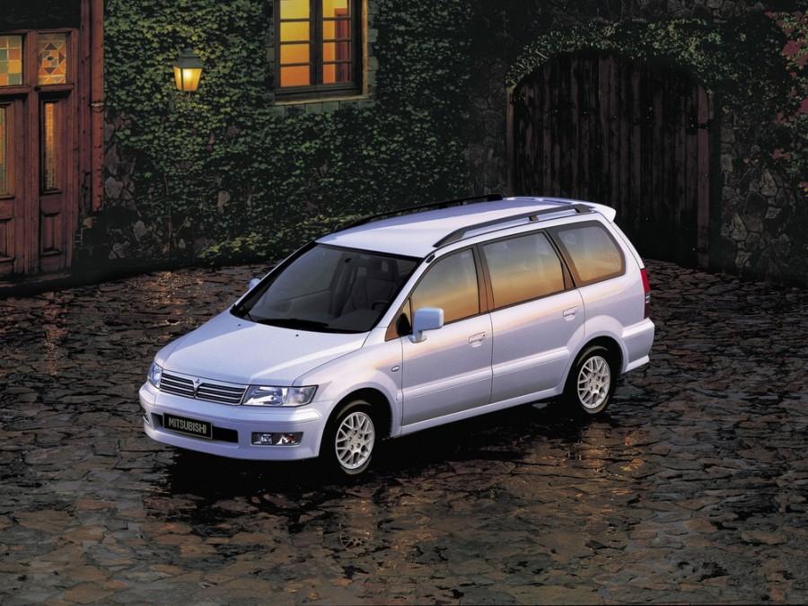 Mitsubishi Space Wagon минивэн, 1998–2004, Typ N50 - отзывы, фото и характеристики на Car.ru