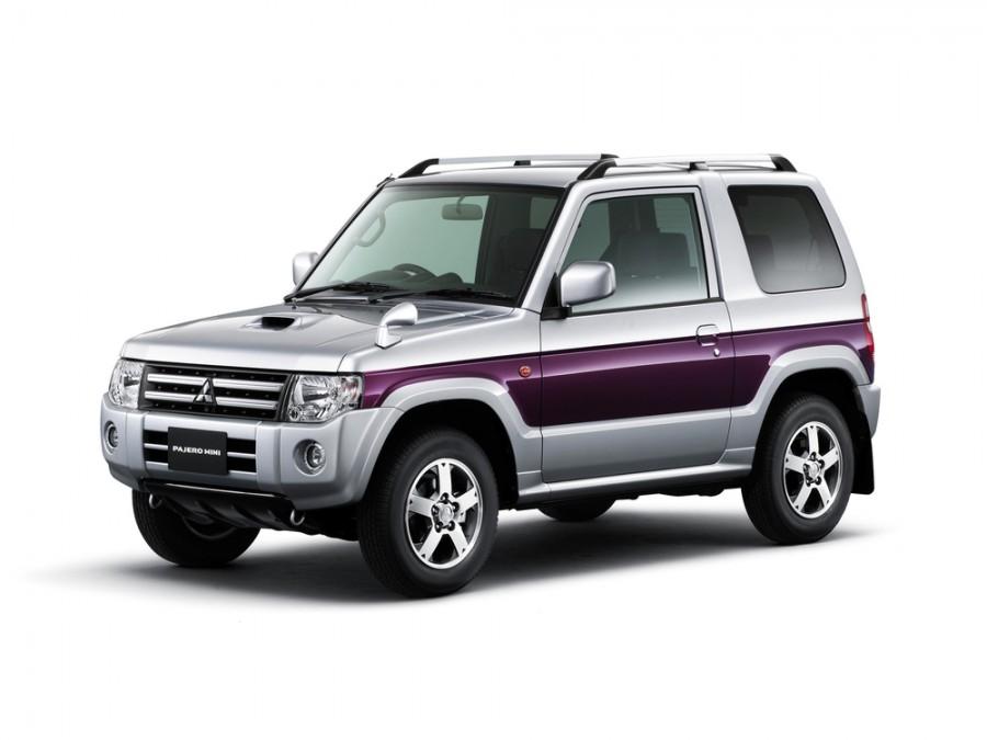 Mitsubishi Pajero Mini внедорожник 3-дв., 2008–2012, H53/58A [2-й рестайлинг] - отзывы, фото и характеристики на Car.ru