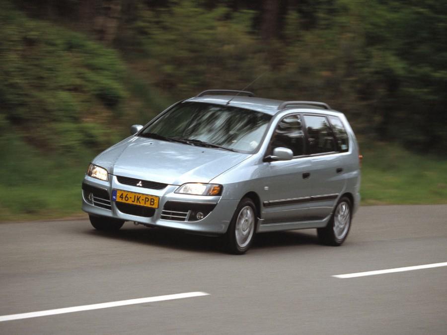 Mitsubishi Space Star минивэн, 2002–2005, 1 поколение [рестайлинг] - отзывы, фото и характеристики на Car.ru