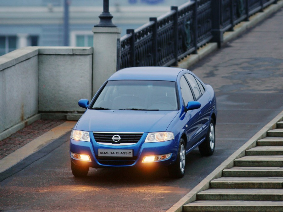Nissan Almera Classic седан, 2006–2013, B10 - отзывы, фото и характеристики на Car.ru