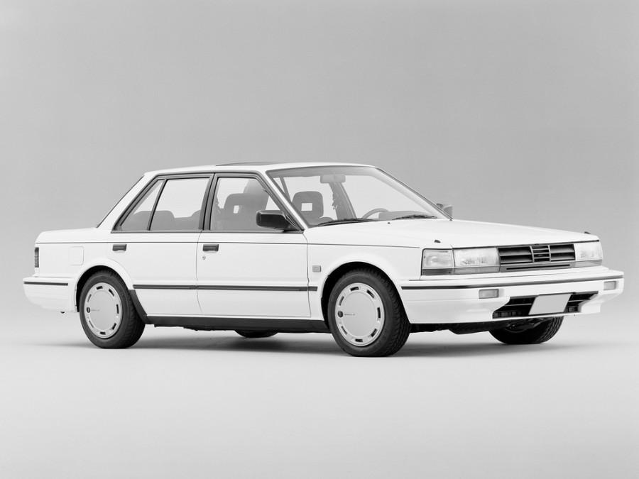 Nissan Bluebird седан, 1985–1990, U11 [рестайлинг] - отзывы, фото и характеристики на Car.ru