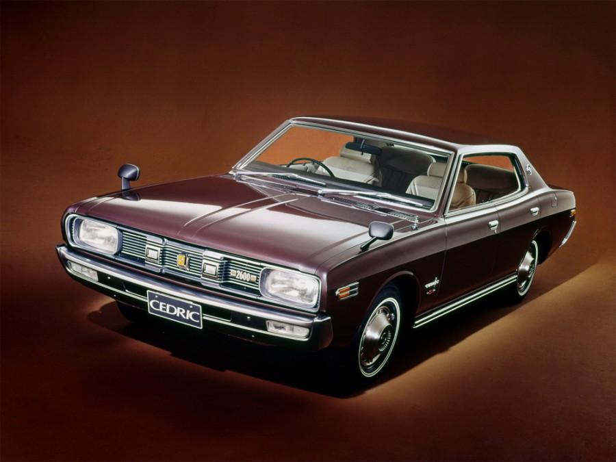 Nissan Cedric хардтоп 4-дв., 1971–1975, 230 - отзывы, фото и характеристики на Car.ru
