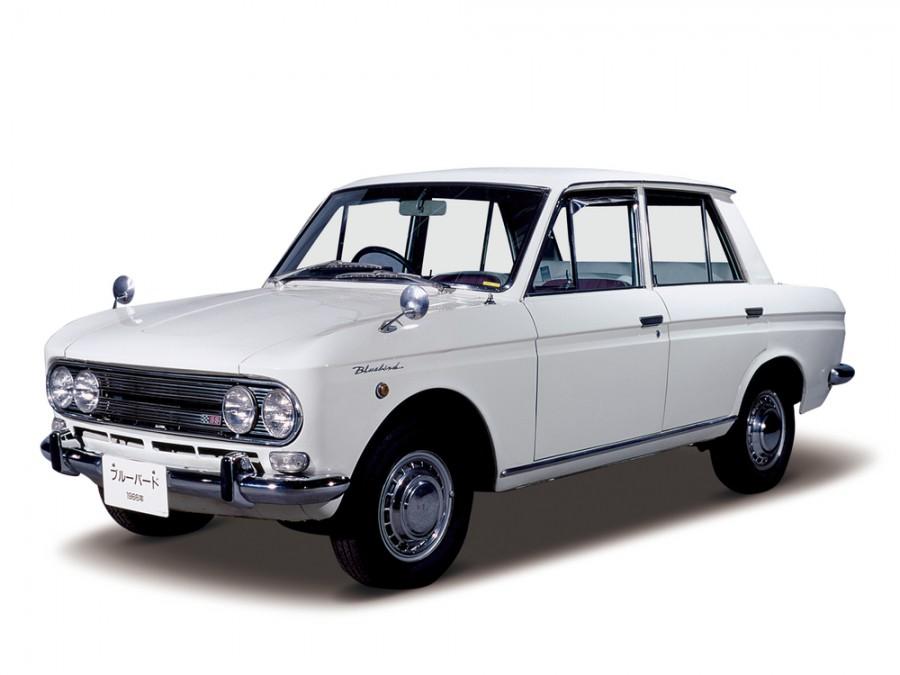 Nissan Bluebird седан 4-дв., 1964–1967, 411 [рестайлинг] - отзывы, фото и характеристики на Car.ru