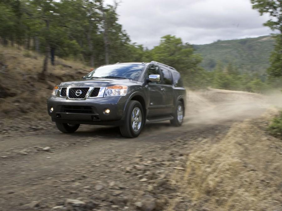 Nissan Armada внедорожник, 2007–2016, 1 поколение [рестайлинг] - отзывы, фото и характеристики на Car.ru