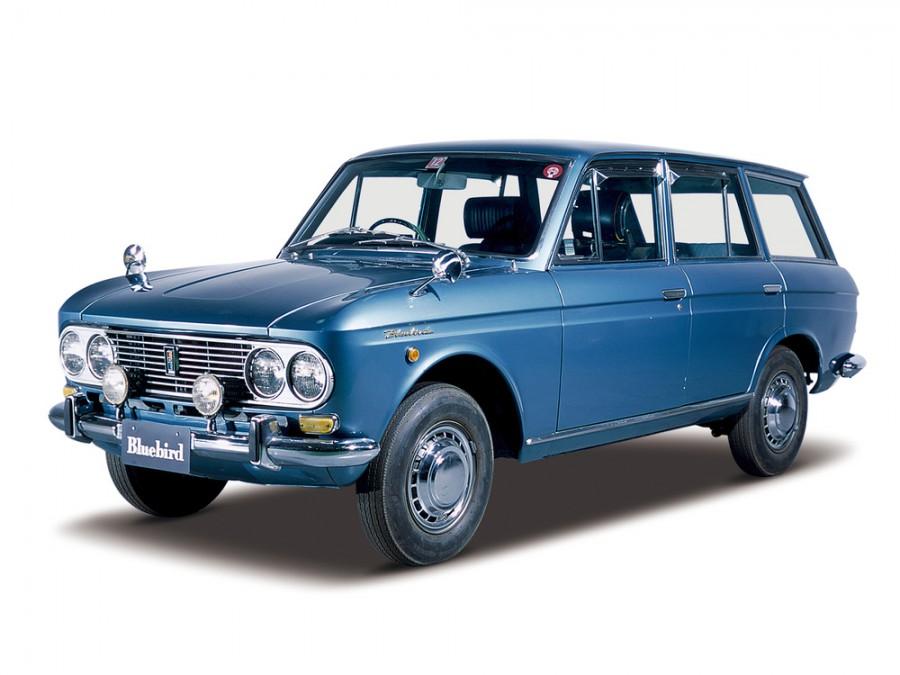 Nissan Bluebird универсал, 1964–1967, 411 [рестайлинг] - отзывы, фото и характеристики на Car.ru