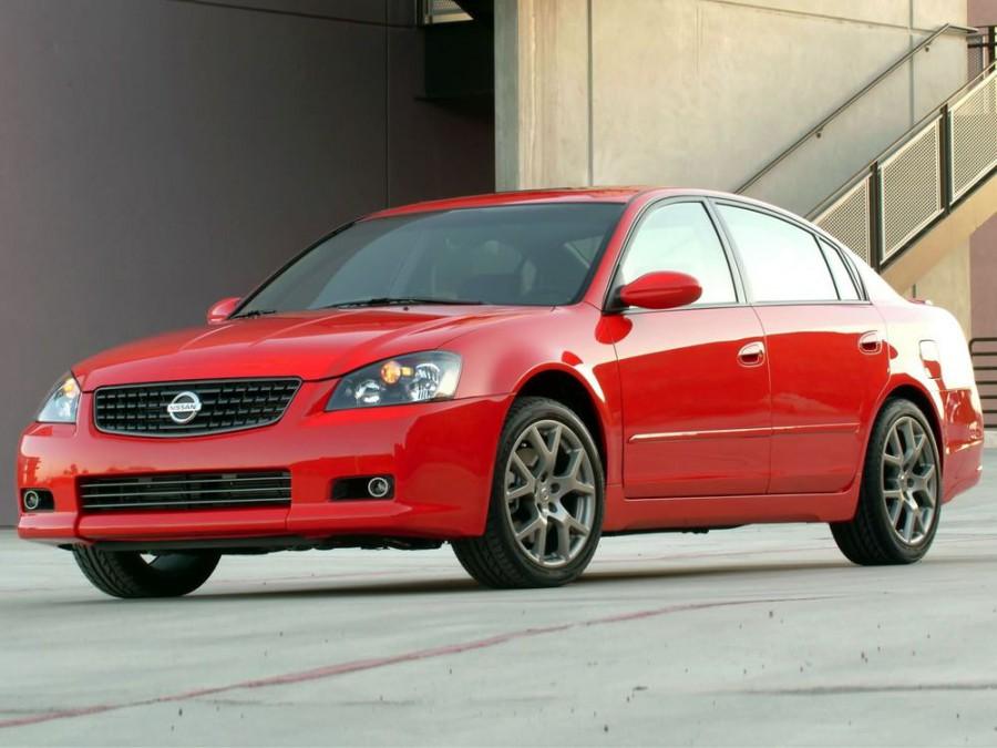 Nissan Altima SE-R седан 4-дв., 2005–2006, L31 [рестайлинг] - отзывы, фото и характеристики на Car.ru