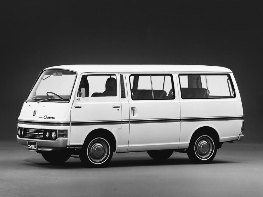 Nissan Caravan микроавтобус, 1973–1980, E20 - отзывы, фото и характеристики на Car.ru