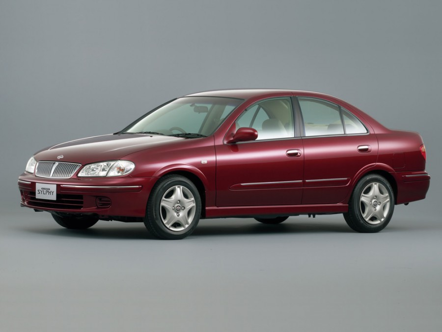 Nissan Bluebird Sylphy седан, 2000–2003, G10 - отзывы, фото и характеристики на Car.ru