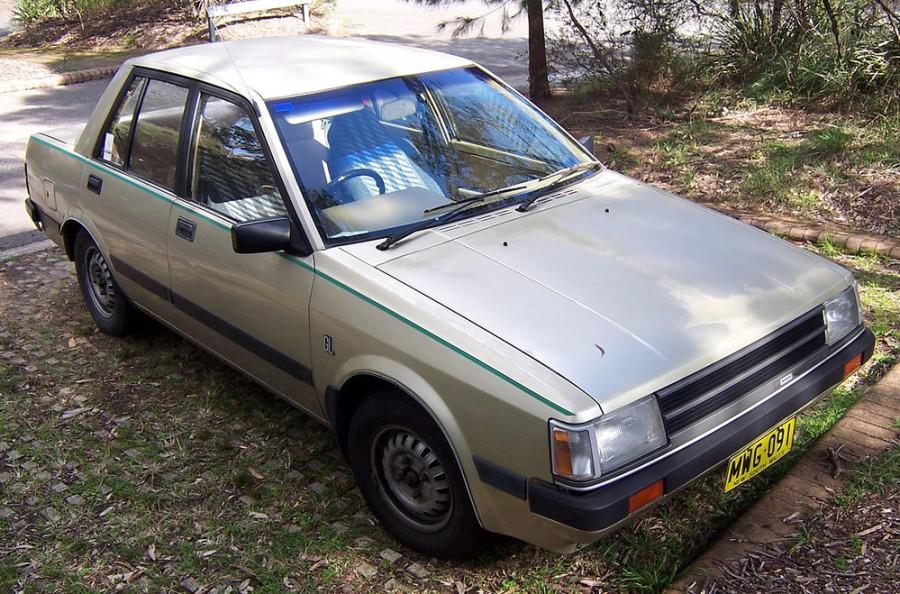 Nissan Cherry седан, 1982–1986, N12 - отзывы, фото и характеристики на Car.ru