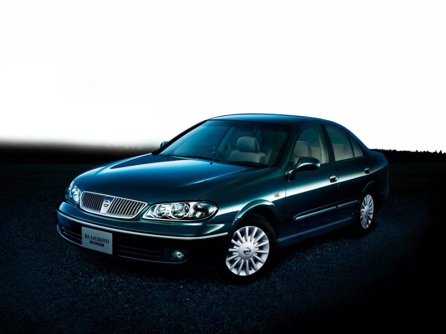 Nissan Bluebird Sylphy седан, 2003–2005, G10 [рестайлинг] - отзывы, фото и характеристики на Car.ru