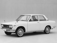 Nissan Bluebird, 510, Седан 2-дв., 1967–1972