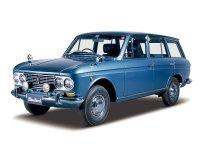 Nissan Bluebird, 411 [рестайлинг], Универсал, 1964–1967