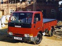 Nissan Cabstar, 2 поколение, Single cab борт 2-дв., 1995–2010
