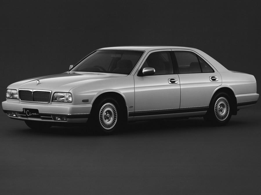 Nissan Cima седан, 1991–1996, Y32 - отзывы, фото и характеристики на Car.ru