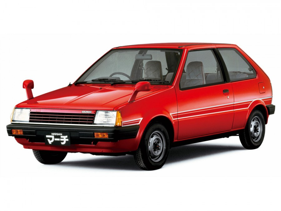 Nissan March хетчбэк 3-дв., 1982–1985, K10 - отзывы, фото и характеристики на Car.ru