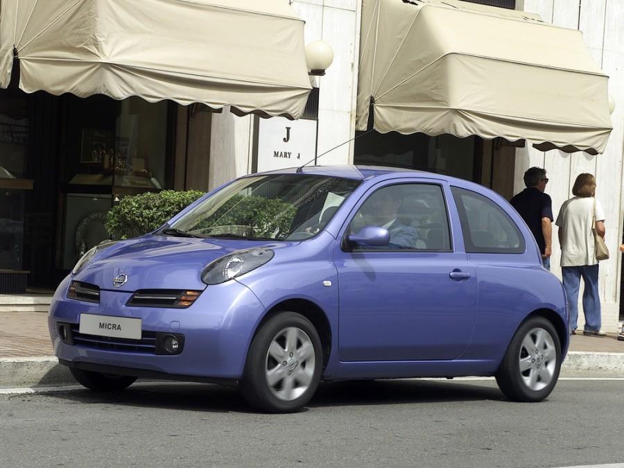 Nissan Micra хетчбэк 3-дв., 2002–2010, K12 - отзывы, фото и характеристики на Car.ru