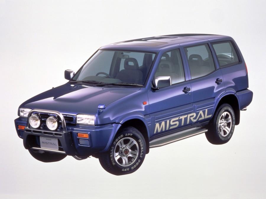 Nissan Mistral кроссовер 5-дв., 1994–1999, R20 - отзывы, фото и характеристики на Car.ru