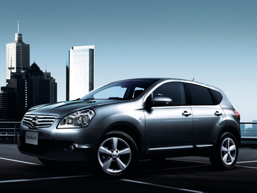 Nissan Dualis кроссовер, 2007–2010, J10 - отзывы, фото и характеристики на Car.ru