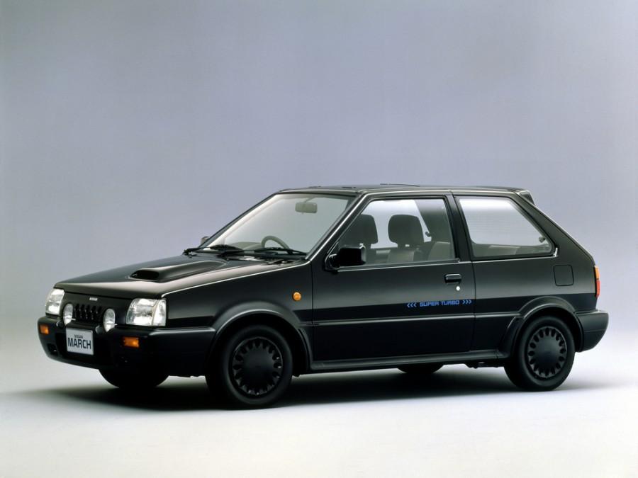 Nissan March Super turbo хетчбэк 3-дв., 1989–1991, K10 [2-й рестайлинг] - отзывы, фото и характеристики на Car.ru