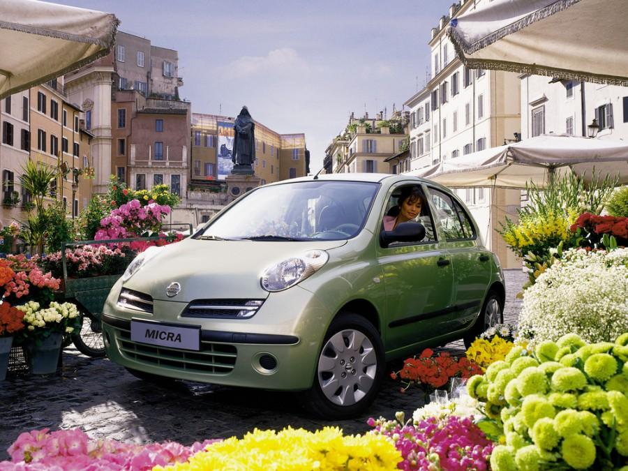 Nissan Micra хетчбэк 5-дв., 2002–2010, K12 - отзывы, фото и характеристики на Car.ru