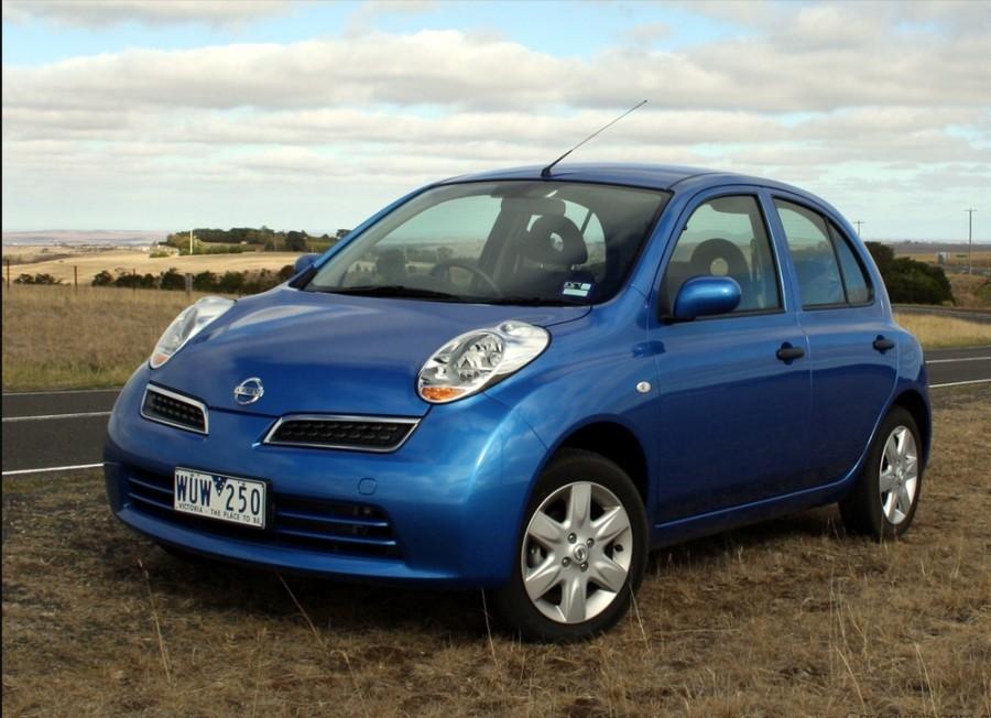 Nissan March хетчбэк 5-дв., 2007–2010, K13 - отзывы, фото и характеристики на Car.ru