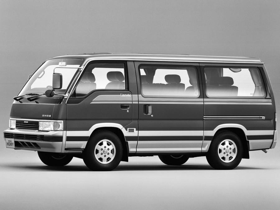 Nissan Homy микроавтобус, 1986–1997, E24 - отзывы, фото и характеристики на Car.ru