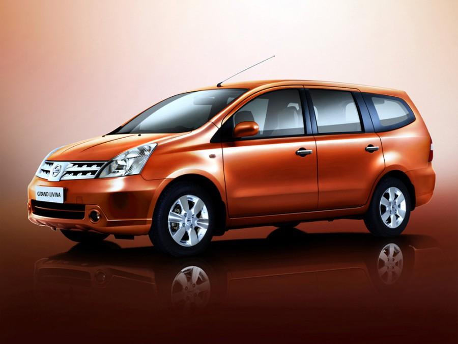 Nissan Livina Grand минивэн 5-дв., 2007–2016, 1 поколение - отзывы, фото и характеристики на Car.ru