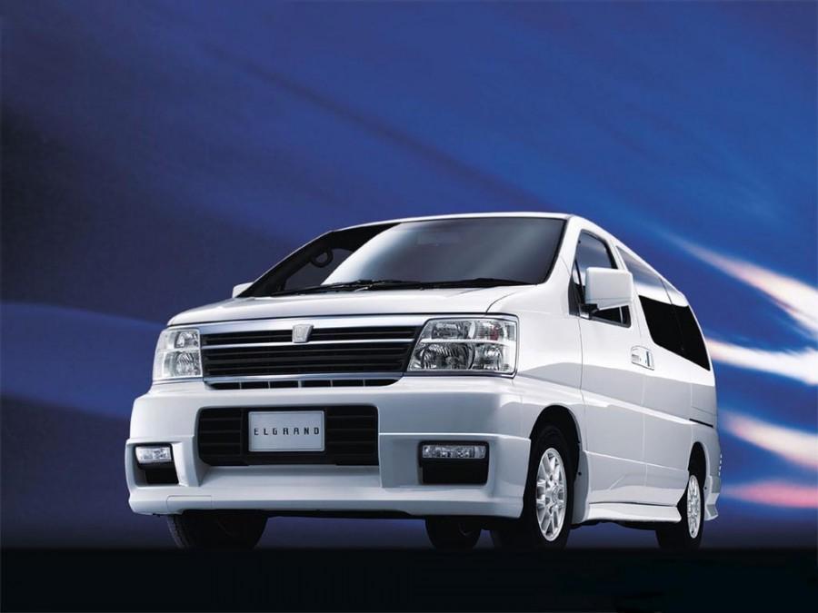 Nissan Elgrand минивэн 5-дв., 1997–2002, E50 - отзывы, фото и характеристики на Car.ru