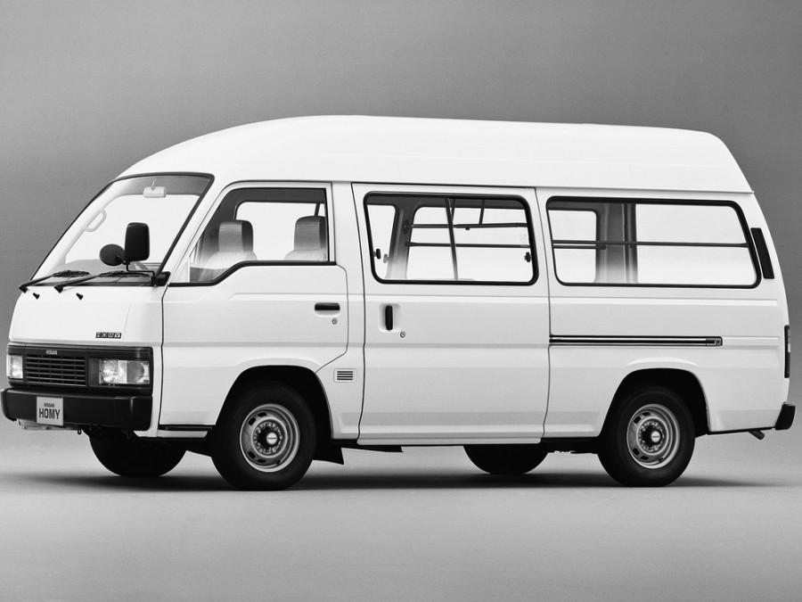 Nissan Homy фургон, 1986–1997, E24 - отзывы, фото и характеристики на Car.ru