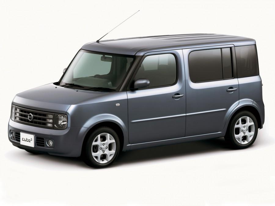 Nissan Cube Cube 3 минивэн 5-дв., 2002–2008, 2 поколение - отзывы, фото и характеристики на Car.ru