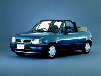 Nissan March, K11 [2-й рестайлинг], Кабриолет, 1999–2002