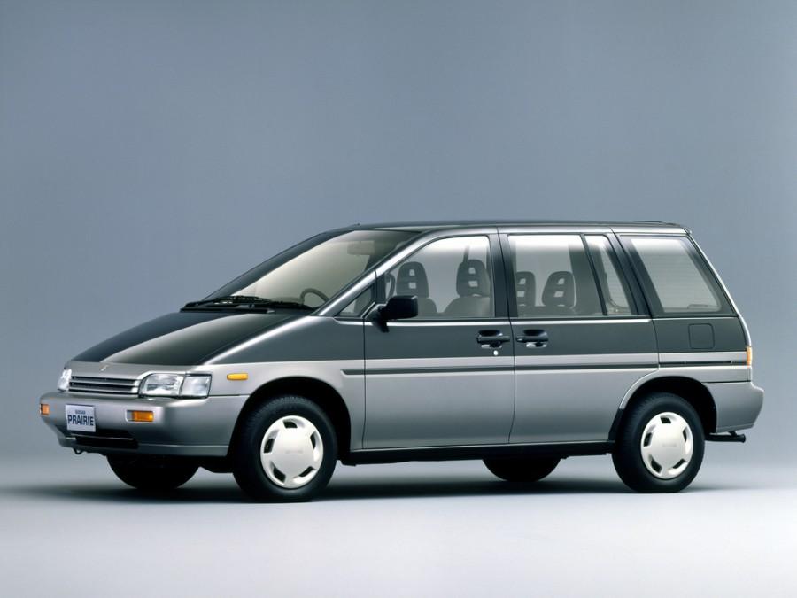 Nissan Prairie минивэн, 1988–1998, M11 - отзывы, фото и характеристики на Car.ru