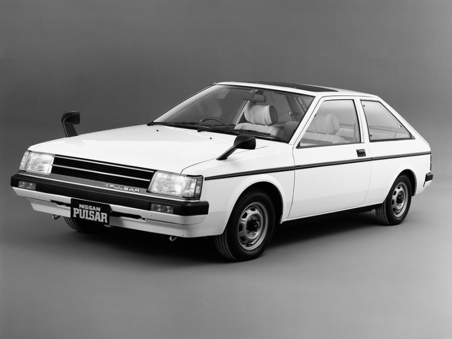 Nissan Pulsar хетчбэк 3-дв., 1982–1986, N12 - отзывы, фото и характеристики на Car.ru
