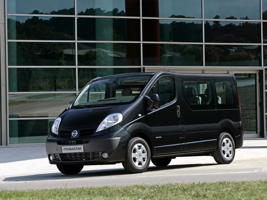 Nissan Primastar микроавтобус, 2006–2016, 1 поколение [рестайлинг] - отзывы, фото и характеристики на Car.ru