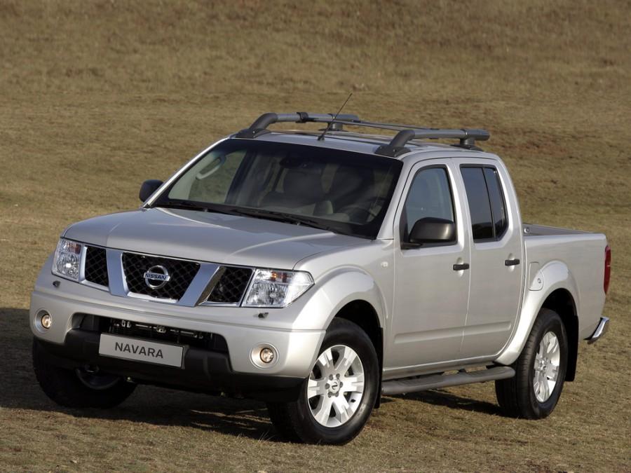 Nissan Navara пикап, 2005–2010, D40 - отзывы, фото и характеристики на Car.ru
