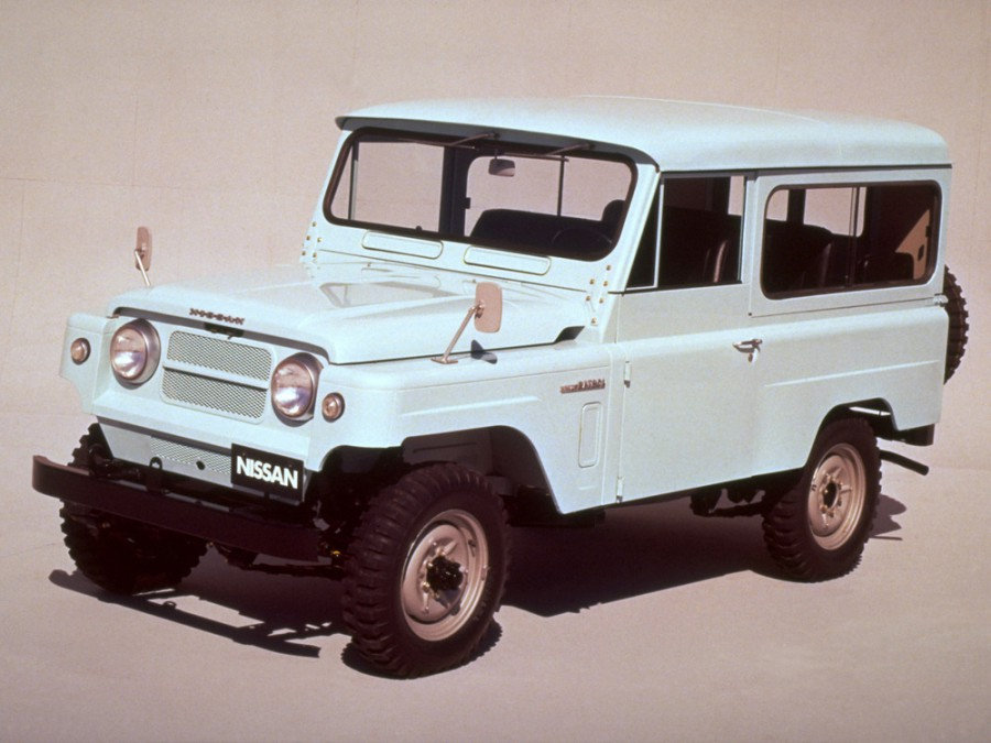 Nissan Patrol KG60 Hard Top внедорожник 3-дв., 1960–1980, 60 - отзывы, фото и характеристики на Car.ru