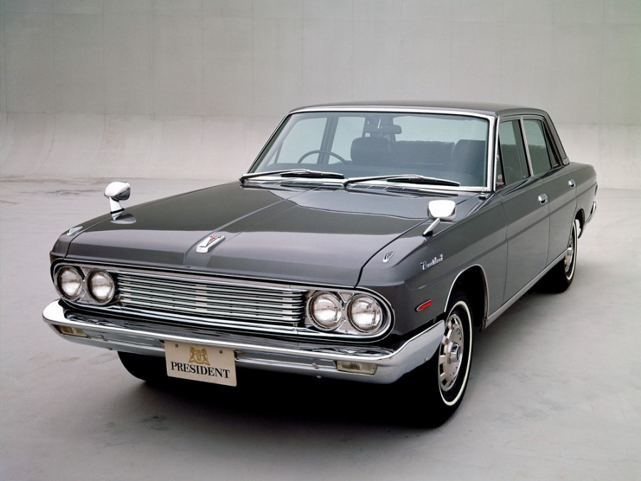 Nissan President седан, 1965–1973, H150 - отзывы, фото и характеристики на Car.ru