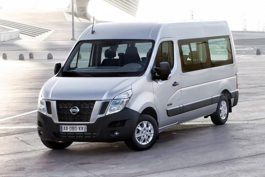Nissan NV400 микроавтобус 4-дв., 2010–2016, 1 поколение - отзывы, фото и характеристики на Car.ru