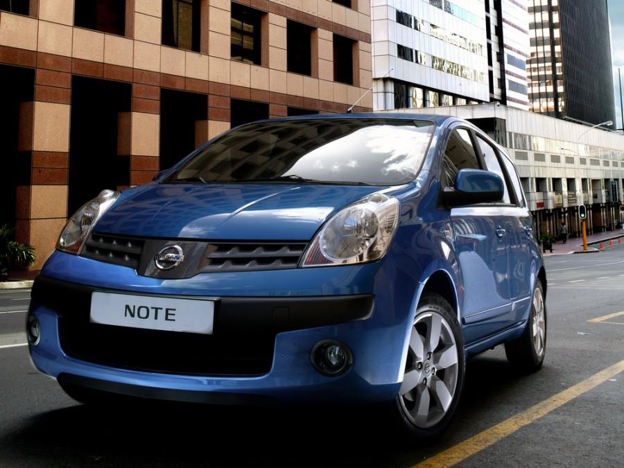 Nissan Note хетчбэк, 2005–2009, E11 - отзывы, фото и характеристики на Car.ru