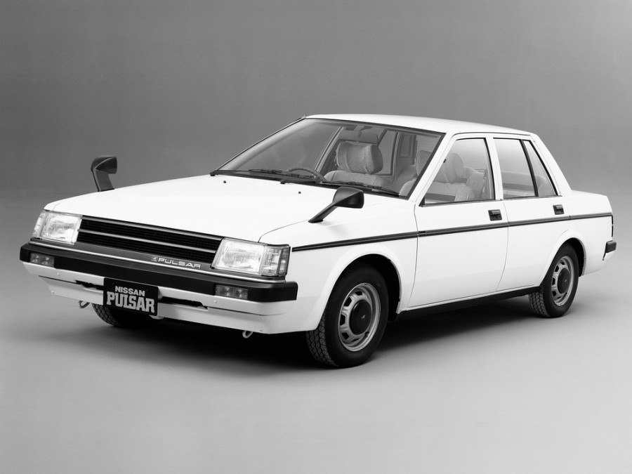 Nissan Pulsar седан, 1982–1986, N12 - отзывы, фото и характеристики на Car.ru
