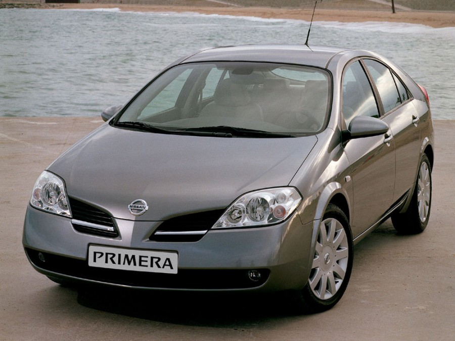 Nissan Primera лифтбэк, 2002–2008, P12 - отзывы, фото и характеристики на Car.ru