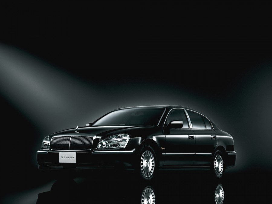 Nissan President седан, 2003–2010, PGF50 - отзывы, фото и характеристики на Car.ru