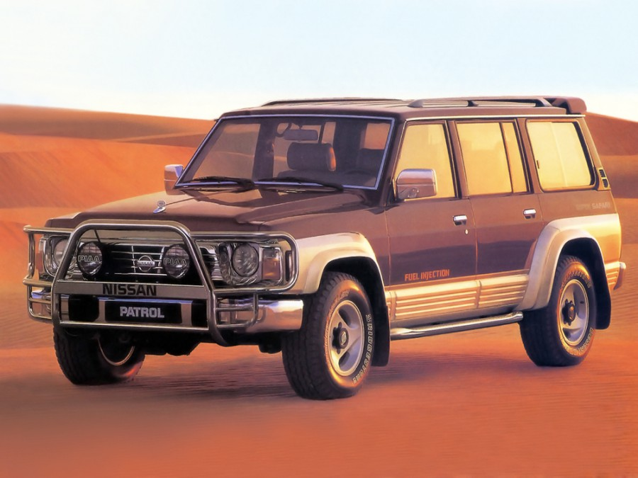 Nissan Patrol внедорожник 5-дв., 1987–1998, Y60 - отзывы, фото и характеристики на Car.ru