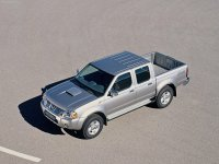 Nissan Pick UP, D22 [рестайлинг], Crew cab пикап 4-дв., 2001–2008